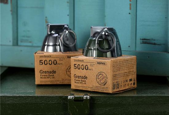 5000 mah remax granat